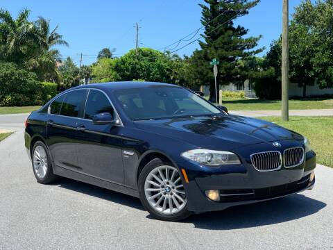 2011 BMW 5 Series for sale at Citywide Auto Group LLC in Pompano Beach FL
