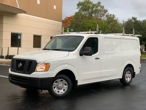 2016 Nissan NV Cargo for sale at Citywide Auto Group LLC in Pompano Beach FL