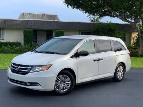 2014 Honda Odyssey for sale at Citywide Auto Group LLC in Pompano Beach FL