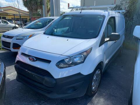 2015 Ford Transit Connect Cargo for sale at Citywide Auto Group LLC in Pompano Beach FL
