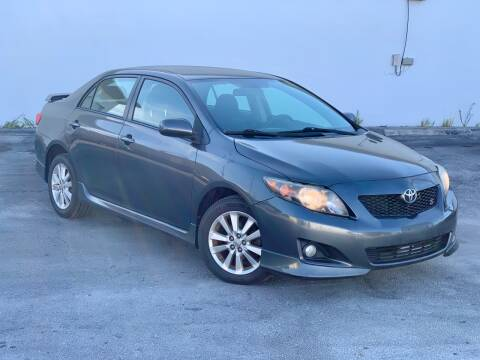 2010 Toyota Corolla for sale at Citywide Auto Group LLC in Pompano Beach FL