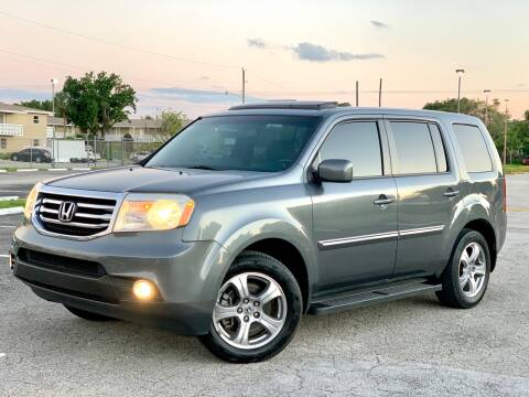 2013 Honda Pilot for sale at Citywide Auto Group LLC in Pompano Beach FL