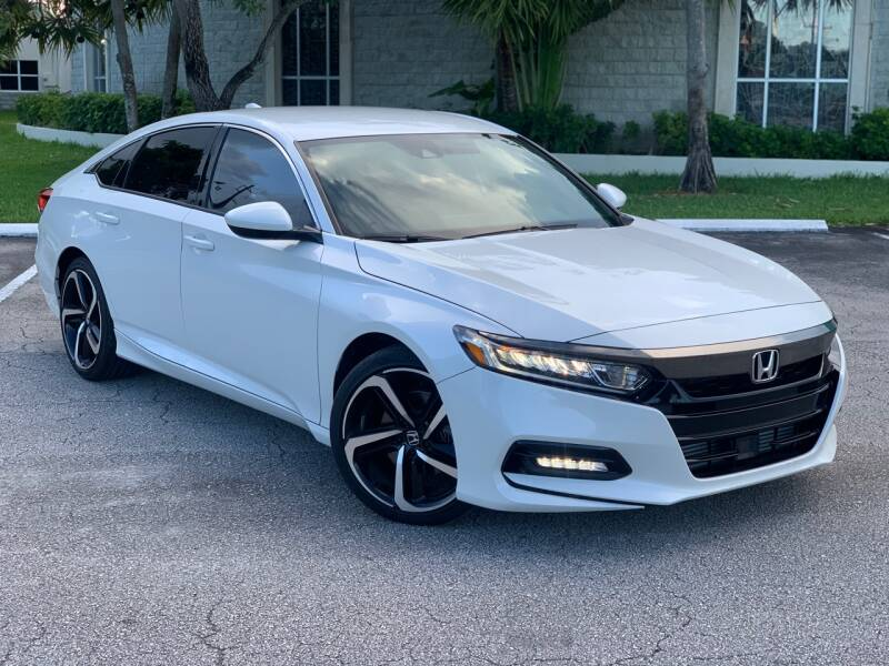 2019 Honda Accord for sale at Citywide Auto Group LLC in Pompano Beach FL