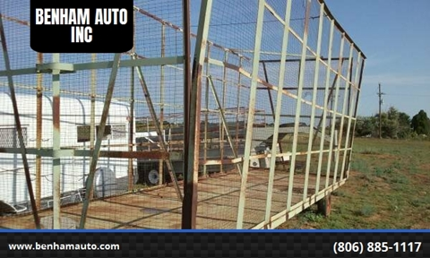 BIG 12 COTTON TRAILER for sale at BENHAM AUTO INC - Benham Auto Trailers in Lubbock TX