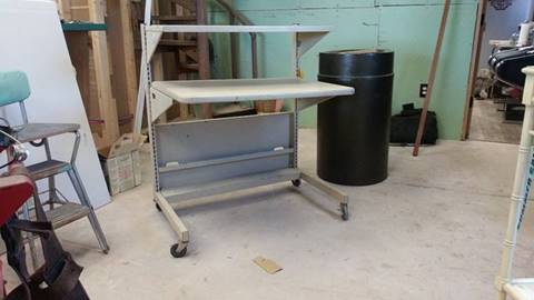 ADJUSTABLE DESK for sale at BENHAM AUTO INC - Peace of Mind Treasures and More Store in Lubbock TX