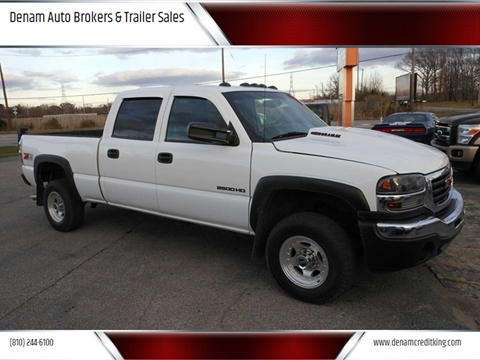 2001 GMC Sierra 2500HD for sale in Burton, MI