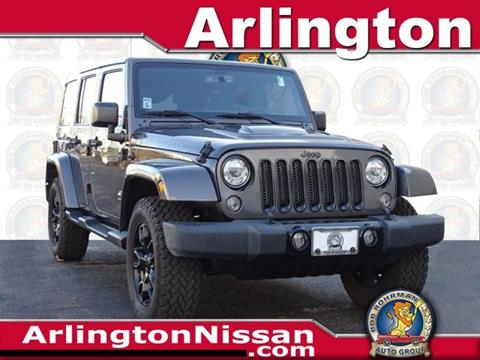 2017 Jeep Wrangler Unlimited for sale in Arlington Heights, IL