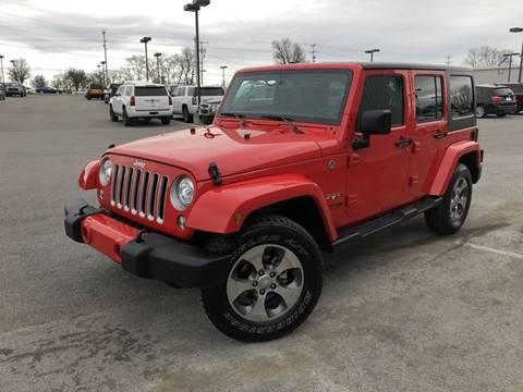 2018 Jeep Wrangler Unlimited for sale in Murfreesboro, TN