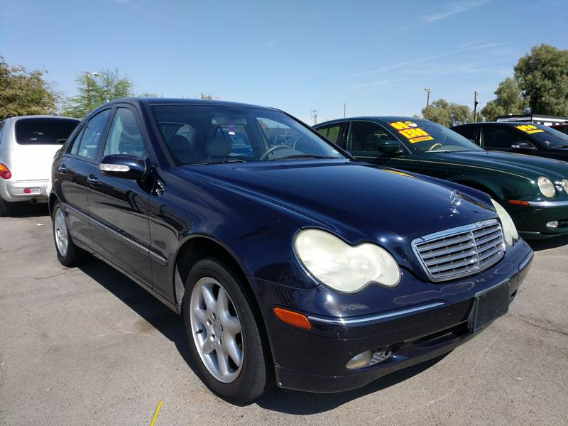 Exceptional 2002 Mercedes Benz C Class For Sale At Car Spot In Las Vegas NV