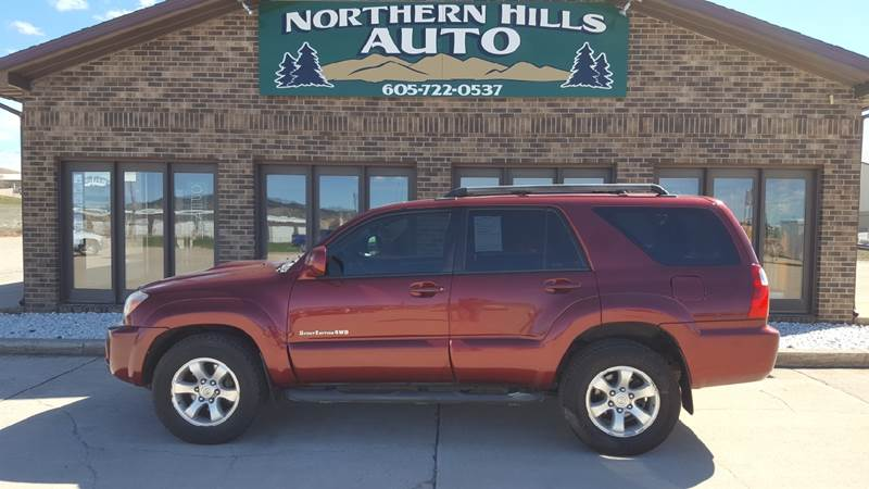 2009 Toyota 4runner Sport Edition In Spearfish Sd Northern Hills Autorhnorthernhillsauto: Toyota 4runner Sd Sensor Location At Gmaili.net