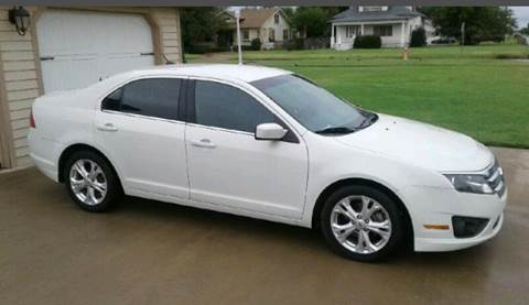 2012 Ford Fusion for sale at Eastern Motors in Altus OK