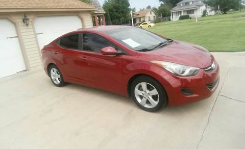2011 Hyundai Elantra for sale at Eastern Motors in Altus OK