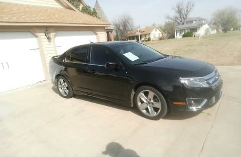 2010 Ford Fusion for sale at Eastern Motors in Altus OK