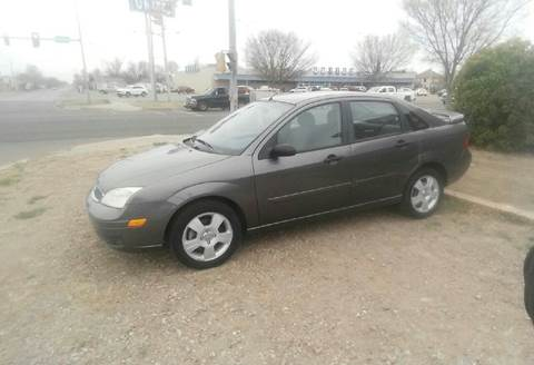 2007 Ford Focus for sale at Eastern Motors in Altus OK