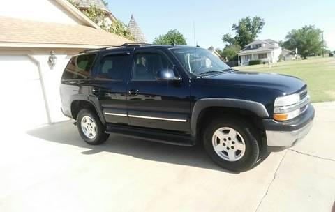 2004 Chevrolet Tahoe for sale at Eastern Motors in Altus OK