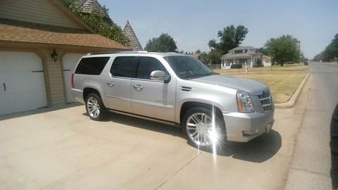 2012 Cadillac Escalade ESV for sale at Eastern Motors in Altus OK