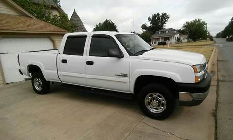 2005 Chevrolet Silverado 2500HD for sale at Eastern Motors in Altus OK
