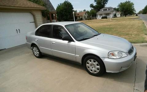 1999 Honda Civic for sale in Altus, OK