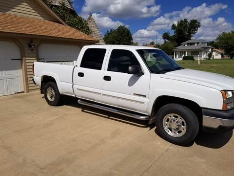 2003 Chevrolet Silverado 1500HD for sale in Altus, OK