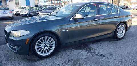 2013 BMW 5 Series for sale at Autobahn Motor Group in Philadelphia PA