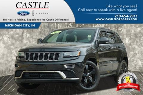 2015 Jeep Grand Cherokee for sale in Michigan City, IN