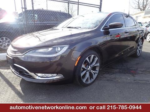 2015 Chrysler 200 for sale in Croydon, PA