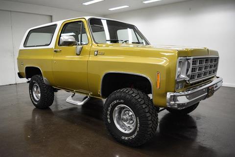 1976 Chevrolet Blazer For Sale Carsforsale