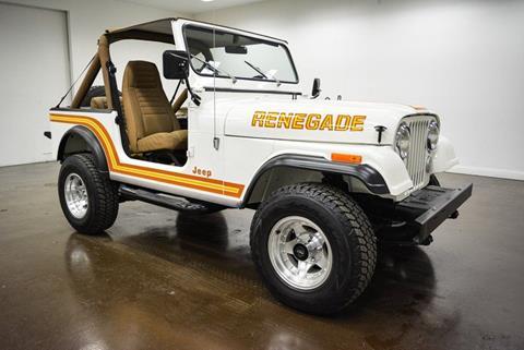 1985 Jeep CJ-7 for sale in Sherman, TX
