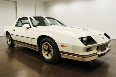 1984 Chevrolet Camaro for sale in Sherman, TX