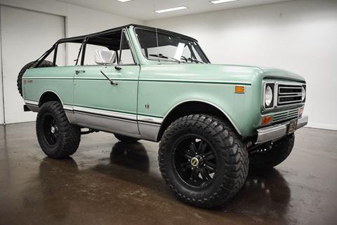 1978 International Scout II for sale in Sherman, TX