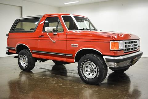 Car Dealerships In Sherman Tx >> Used 1990 Ford Bronco For Sale - Carsforsale.com®