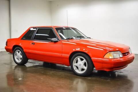 1993 Ford Mustang for sale at Classic Car Liquidators in Sherman TX