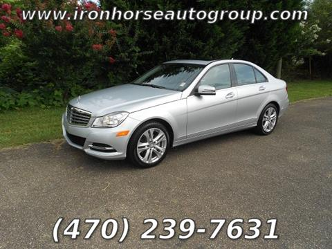 2014 Mercedes-Benz C-Class for sale in Canton, GA