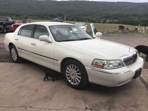 2003 Lincoln Town Car for sale at Troys Auto Sales in Dornsife PA