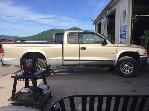 2002 Dodge Dakota for sale at Troys Auto Sales in Dornsife PA