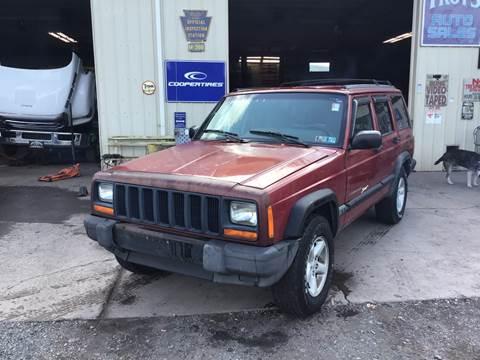 1998 Jeep Cherokee for sale in Dornsife, PA