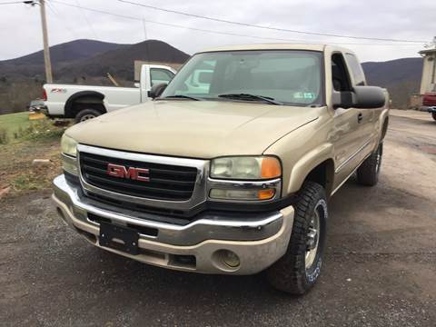 2004 GMC Sierra 2500HD for sale in Dornsife, PA