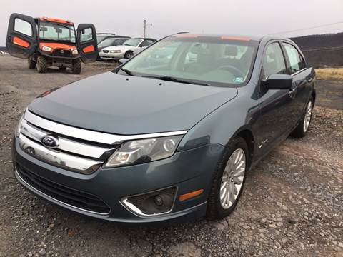 2012 Ford Fusion Hybrid for sale in Dornsife, PA