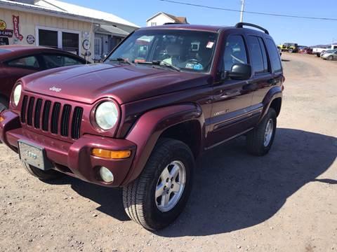 2002 Jeep Liberty for sale in Dornsife, PA