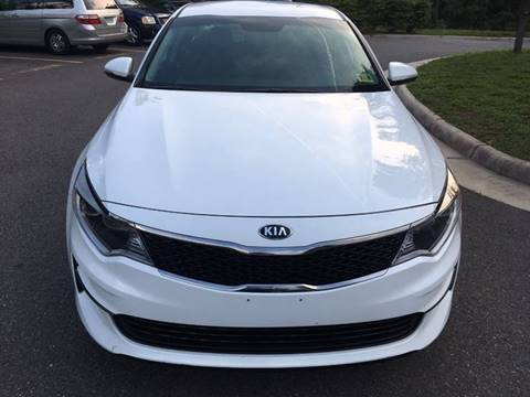 2017 Kia Optima for sale at Best Auto Group in Chantilly VA