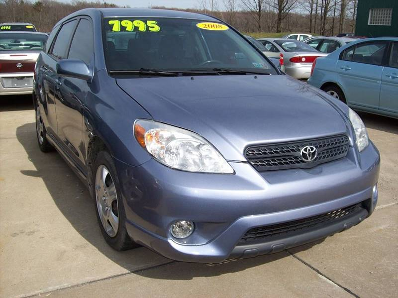 2008 toyota matrix xr in waterford pa summit auto inc. Black Bedroom Furniture Sets. Home Design Ideas