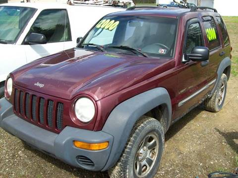 2002 Jeep Liberty for sale in Waterford, PA