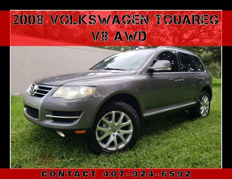 2008 Volkswagen Touareg 2 for sale at AFFORDABLE ONE LLC in Orlando FL