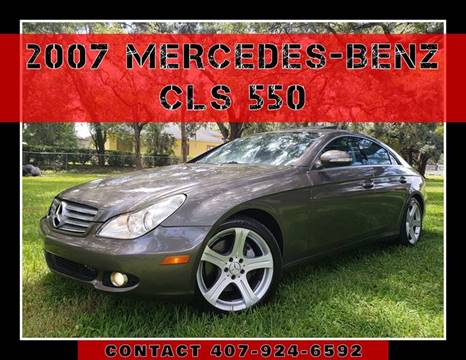 2007 Mercedes-Benz CLS for sale at AFFORDABLE ONE LLC in Orlando FL