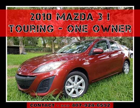 2010 Mazda MAZDA3 for sale at AFFORDABLE ONE LLC in Orlando FL