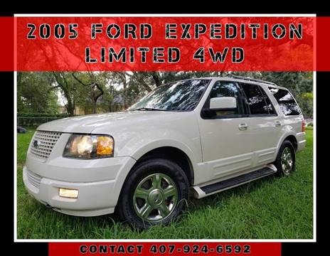 2005 Ford Expedition for sale at AFFORDABLE ONE LLC in Orlando FL