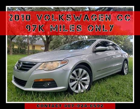 2010 Volkswagen CC for sale at AFFORDABLE ONE LLC in Orlando FL