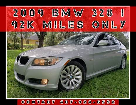 2009 BMW 3 Series for sale at AFFORDABLE ONE LLC in Orlando FL
