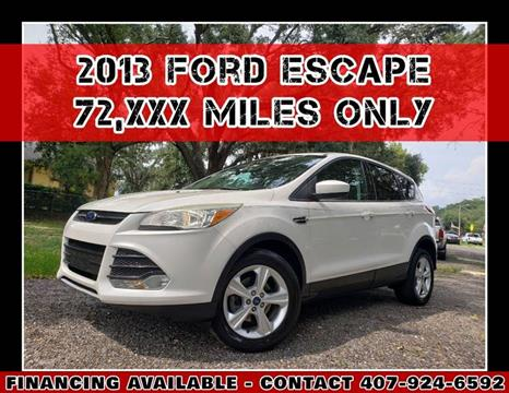 2013 Ford Escape for sale at AFFORDABLE ONE LLC in Orlando FL