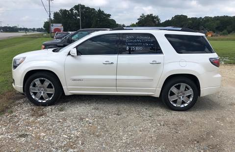 2013 GMC Acadia for sale in Canton, TX